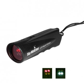 SW svítilna LED Dual Beam Flashlight, Night Vision