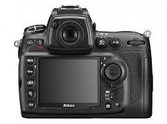 Nikon D700 tělo - pohled zezadu