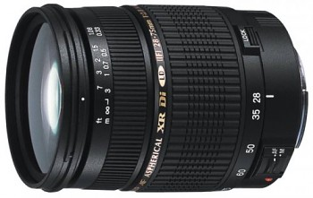 TAMRON AF SP 28-75mm F/2.8 Di pro Canon XR LD Asp. (IF) Macro