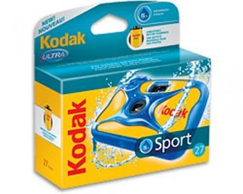 KODAK Neptun Aquasport do 15m, 27 snímků