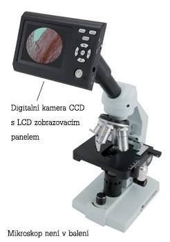 "CCD kamera s LCD 3"" PANEL pro MIKROSKOPY 44430"