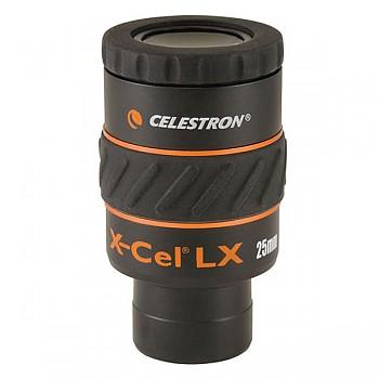 Celestron Okulár X-CEL LX 25mm