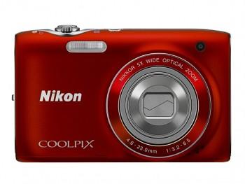 Nikon COOLPIX S3100 červený