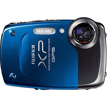 Fujifilm FinePix XP30 modrý GPS
