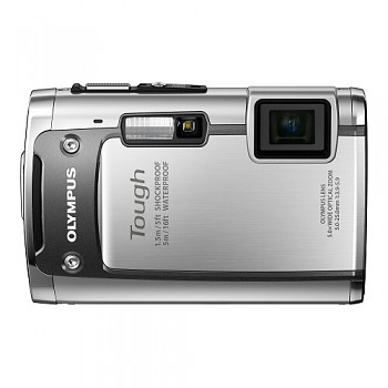 Olympus TG-610 stříbrný
