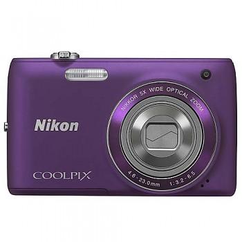 Nikon Coolpix S4150 fialový