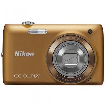 Nikon Coolpix S4150 bronzový