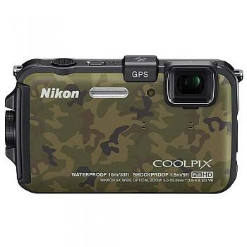 Nikon Coolpix AW100 maskovaný