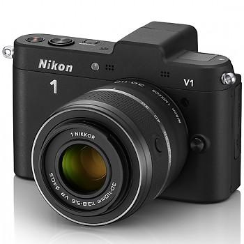 Nikon 1 V1 + 10-30 VR + 30-110 VR černý