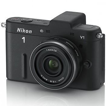 Nikon 1 V1 + 10-30 VR + 10MM/2.8 černý