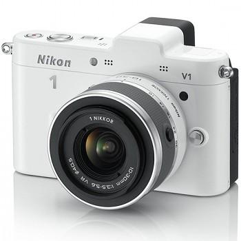 Nikon 1 V1 + 10-30 VR bílý
