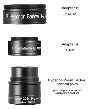 Baader Barlow 2.25x pro Hyperion Zoom