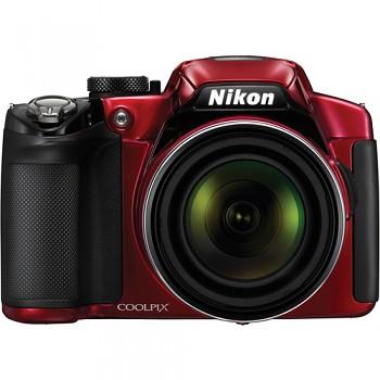 Nikon Coolpix P510 červený