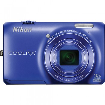 Nikon Coolpix S6300 modrý