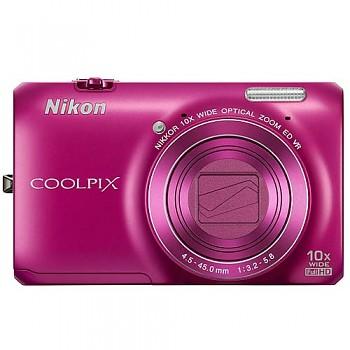 Nikon Coolpix S6300 růžový
