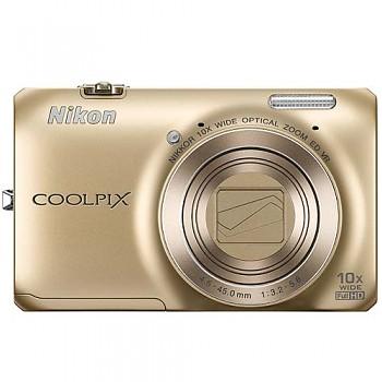 Nikon Coolpix S6300 zlatý