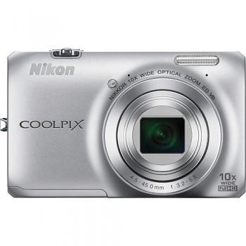 Nikon Coolpix S6300 stříbrný