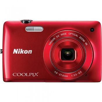 Nikon Coolpix S4300 červený