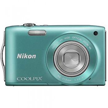 Nikon Coolpix S3300 zelený