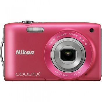 Nikon Coolpix S3300 růžový