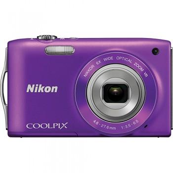 Nikon Coolpix S3300 fialový