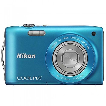 Nikon Coolpix S3300 modrý