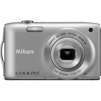 Nikon Coolpix S3300 stříbrný
