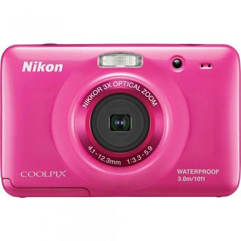 Nikon Coolpix S30 růžový