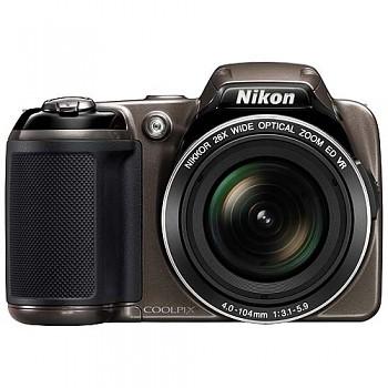 Nikon Coolpix L810 bronzový