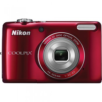Nikon Coolpix L26 červený