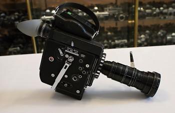 Filmová Kamera Bolex SBM H16 lens zoom 12-120mm 2,2f set