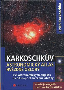 Erich Karkoschka - Karkoschkův astronomický atlas hvězdné oblohy