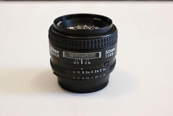 Nikon AF- 50mm 1:1.4D