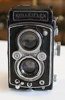 ROLLEIFLEX 6x6 Obj. TESSAR 3,5F 75 mm +B