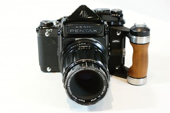 Pentax 6x7 set obj . Takumar 135 mm F 4