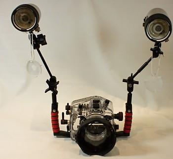 Podvodní pouzdro pro Canon 60d - komplet do 60metru
