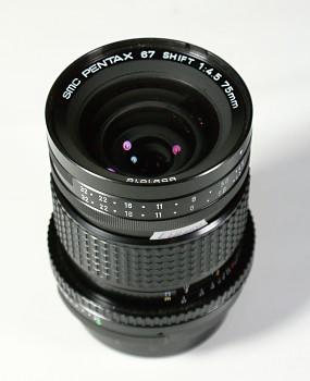 Pentax 67 Shift 75mm 1:4,5 f SMC 6x7