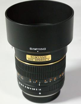 SAMYANG 85mm 1.4f Aspherical IF typ bajonetu Olympus 4/3