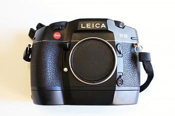 Leica R8 Tělo + Motor Wider R8+Blesk Leica SF58