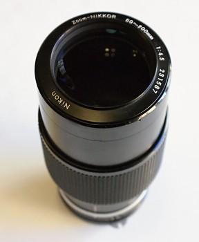 Zoom-Nikkor 80-200mm 1:4,5 f Ai  Manual fokus