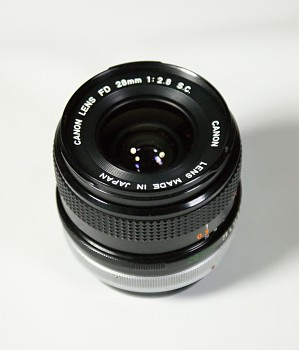 Canon Lens FD 28mm 1:2,8F S.C