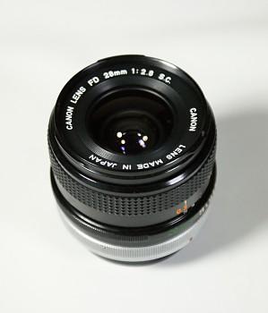 Canon Lens FD 28mm 1:2,8F S.C
