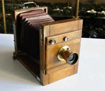 Dřevěný Fotoaparát 13x18
