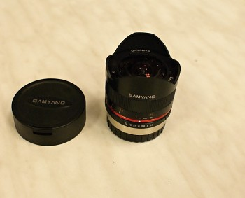 Samyang 8mm 1:2,8f UMC Fish-Eye II X bajonet Fuji