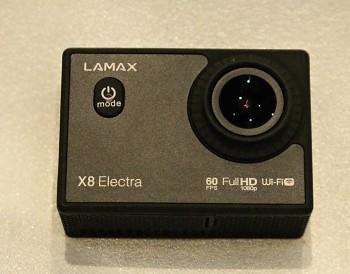 Kamera LAMAX X8 ELECTRA +2x Baterie