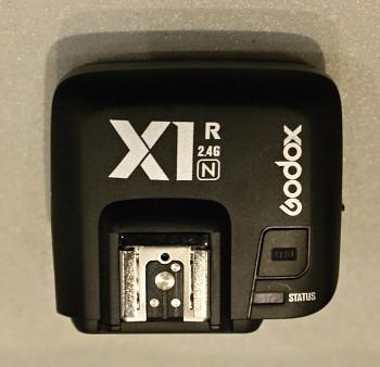 Radiový přijímač Godox X1R pro Nikon