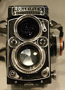 ROLLEIFLEX  6x6 Obj . Planar 1:2,8/ 80mm TLR  Carl Zeiss
