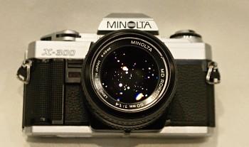 Minolta X-300 Obj. 50mm 1:1,4f MD ROKKOR