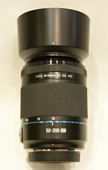 SAMSUNG 50-200 mm f/4-5,6 OIS pro NX černý