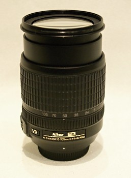 Objektiv Nikon 18-105mm 1:3,5-5,6G ED VR  DX